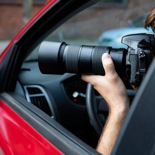 detektyw fotografia